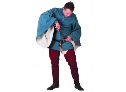 Cotehardie with loose sleeves